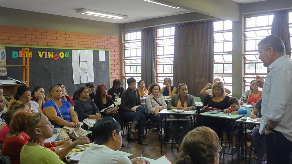 14ª edição do curso, realizada na Restinga | Foto: Themis/ Divulgação