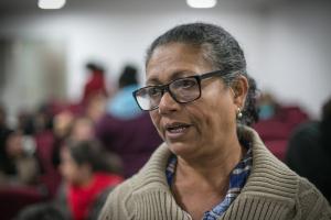 Presidente do sindicato da categoria em Pernambuco, Luiza Batista que dúvidas sobre direitos devem existir por muito tempo|Foto: Guilherme Santos/Sul21