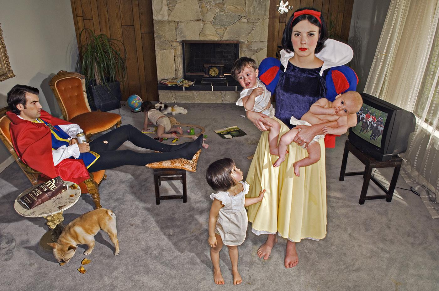 princesa com filhos